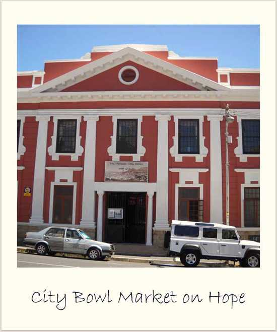 Come and explore this inner city market