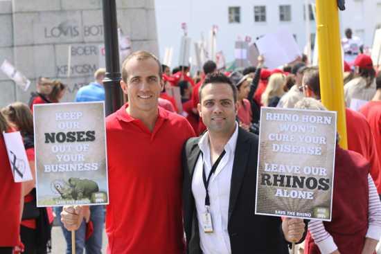 The DA backs World Rhino Day