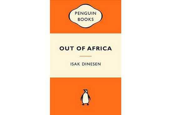 Out of Africa - Karen Blixen book cover