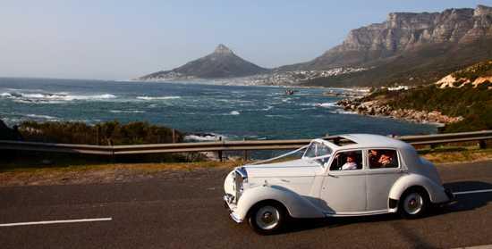 Take a drive in a Bentley MKV1 along Oudekraal, Cape Town