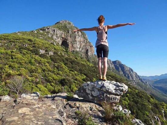 Take hikes to Elephant's Eye, Cape Town