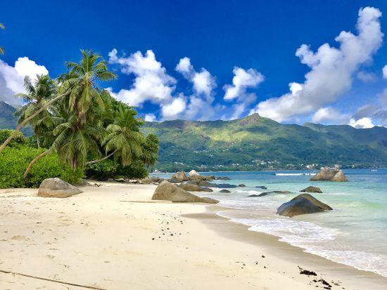 Mahé beaches in Seychelles