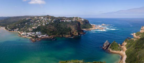 Knysna Heads are spectacular to see