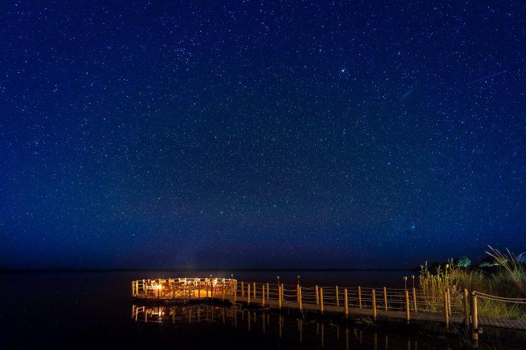 Atemberaubender Sternenhimmel über Afrika