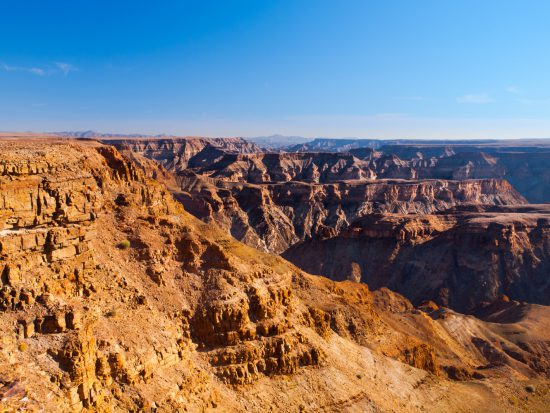 Fish River Canyon in Namibia