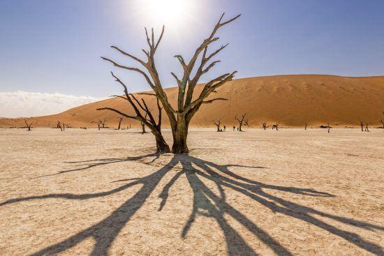 Uma aventura em casale m Sossusvlei, na Namíbia, é uma das experiências africanas mais românticas
