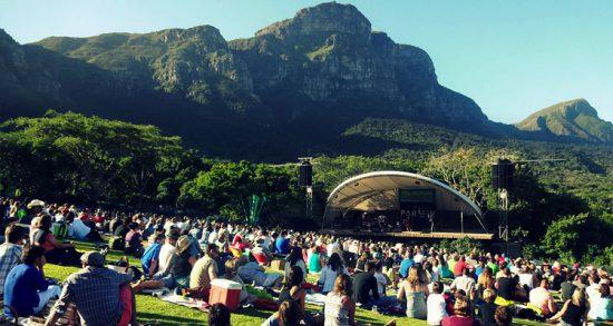 Enjoy a concert at Kirstenbosch Botanical Gardens
