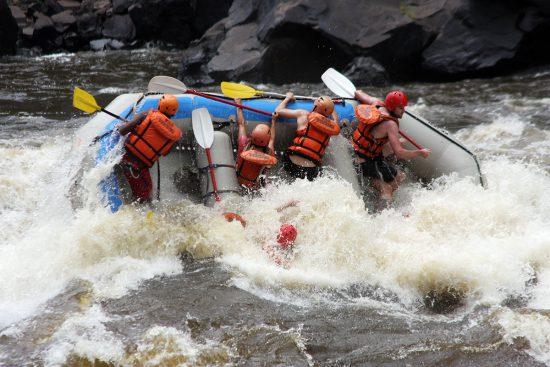 Thrilling White Water Rafting in Zimbabwe