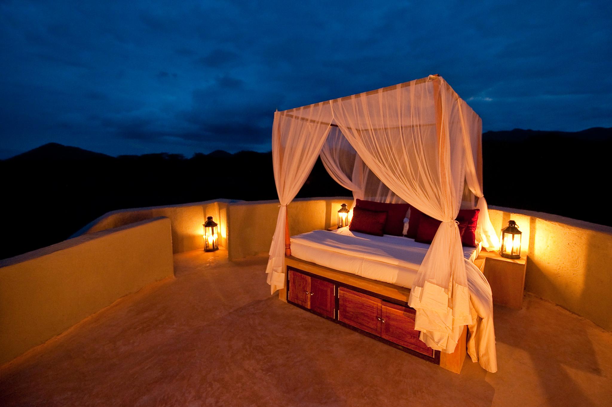 Cubierta para dormir Ol Donyo Lodge