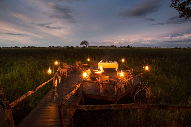 Duba Plains Camp, Okavango Delta