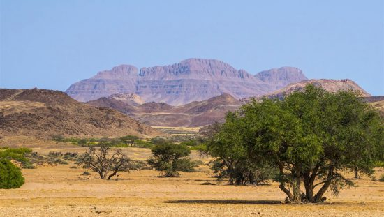Landschaft Damaraland