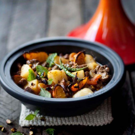 Try out the apricot and lamp tagine recipe