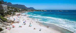 Plage de Clifton : une des plus belles plages du Cap.