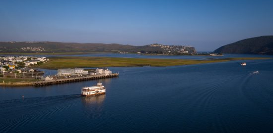 Ferry trip through the Knysna lagoon, South Africa