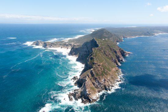 Cape Point aus der Vogelperspektive - Bester Reiseführer Südafrika
