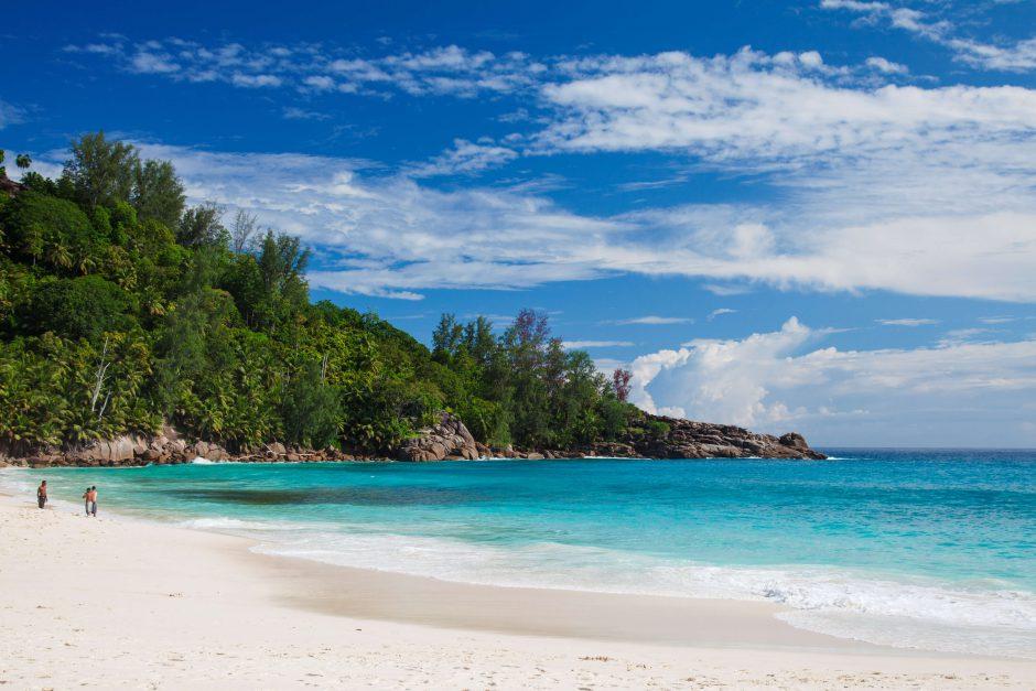 Vie sur l'île aux Seychelles