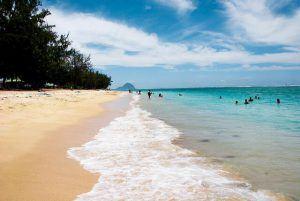 vacances à l'île maurice : plage flic en flac