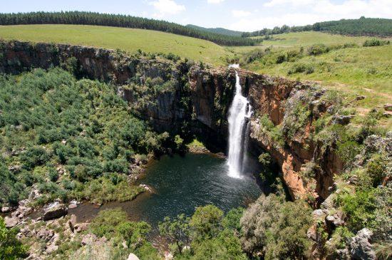 Berlin Falls along Panorama Route in Mpumalanga, South Africa