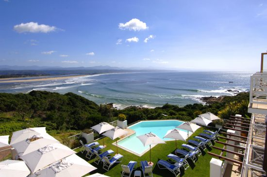 View of Plettenberg Bay beach