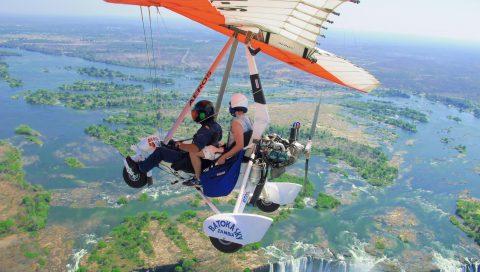 Bucket List Ideen 2020: Per Mikroflugzeug über die Victoria Fälle