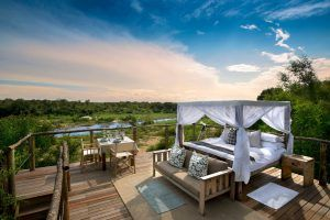 Romantic tree houses on safari: Treehouse in the Lion Sands Reserve