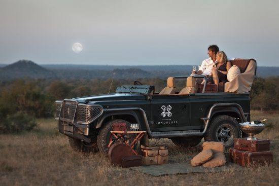 Enjoy a safari on your honeymoon