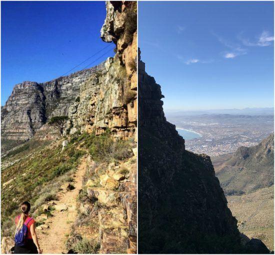 Conquistando a Table Mountain