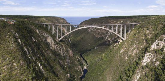 Bloukrans Bridge Bungee Jump in the Garden Route