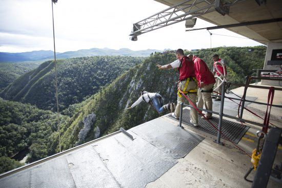 Bloukrans Bungee Jump in the Garden Route