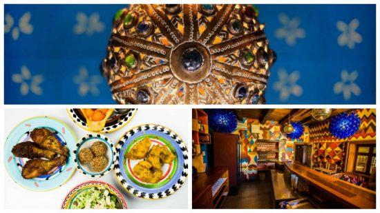 The Africa Café apresenta decoração moderna irreverente