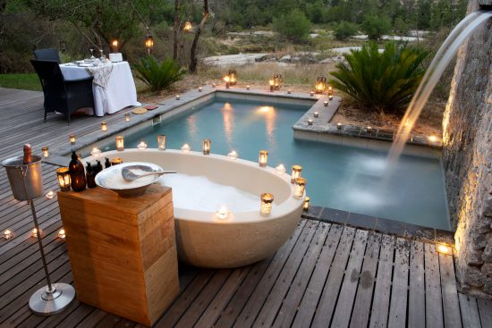 Londolozi Private Granite Suite plunge pool