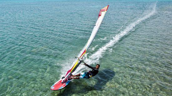 Windsurf dans le top activités nautiques en Afrique