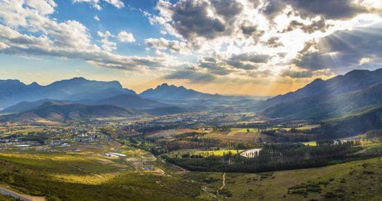 Romantic Cape Winelands around Franschhoek