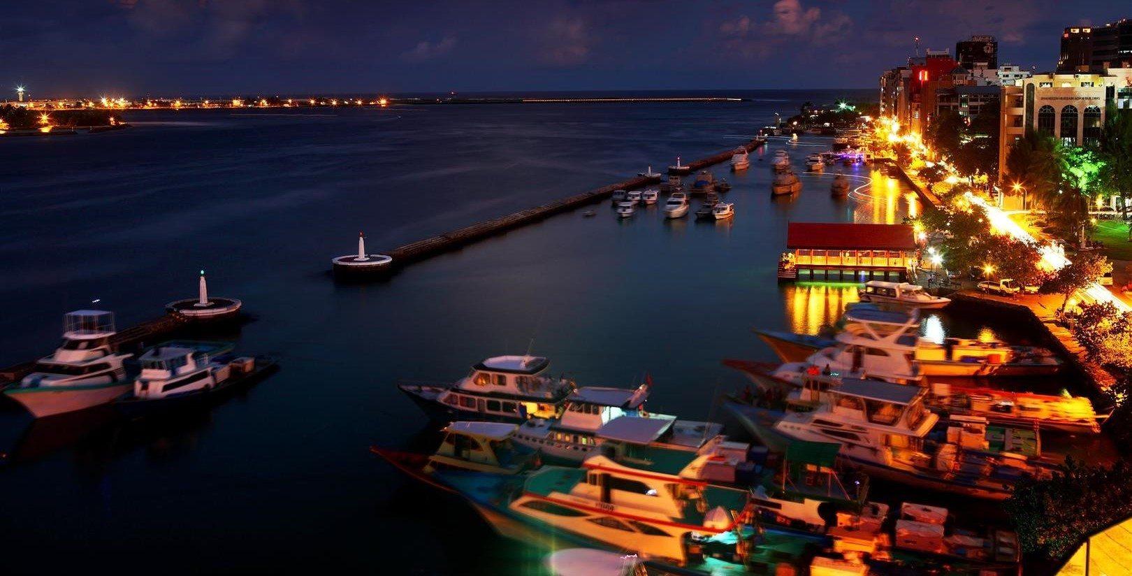 Die Haupstadt der Malediven, Malé
