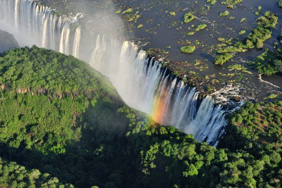 Victoria Falls is certainly not drying up