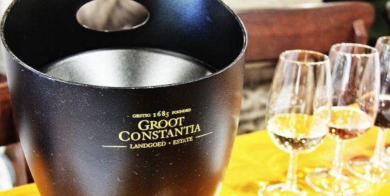 Degustação de vinhos em Groot Constantia