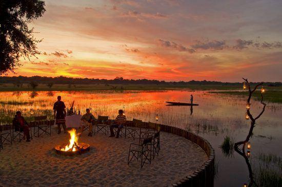 Nachhaltigkeit Tourismus Afrika Lagerfeuer