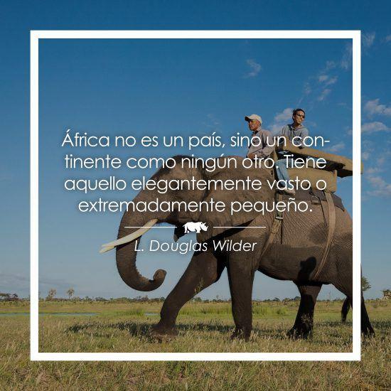 Frase sobre África de Douglas Wilder