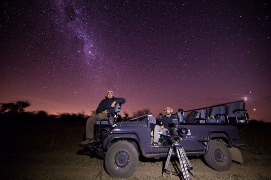 Star gazing at Makanyi Private Game Lodge in Kruger National Park