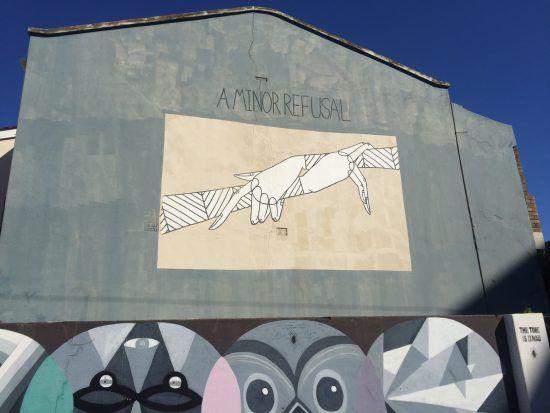 Straßenkunst in Woodstock, Kapstadt