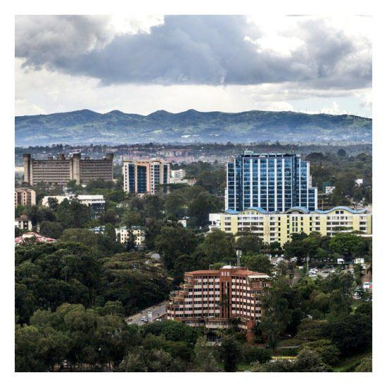 Nairobi, Kenya is a bustling city with beautiful nature