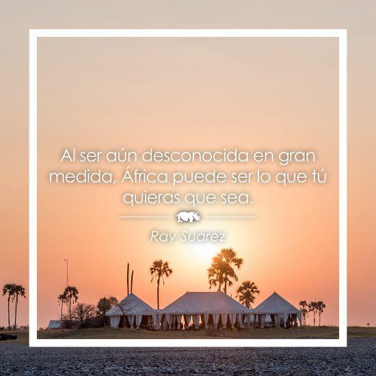Frase sobre África de Ray Suarez