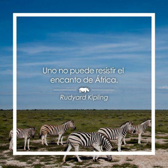 Frase sobre África de Rudyard Kipling