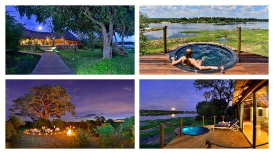 Victoria Falls River Lodge, Zimbábue, perto de Victoria Falls