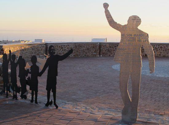 Port Elizabeths Route 67: Ein Kunstwerk, das an Nelson Mandela und die ersten demokratischen Wahlen in Südafrika erinnert