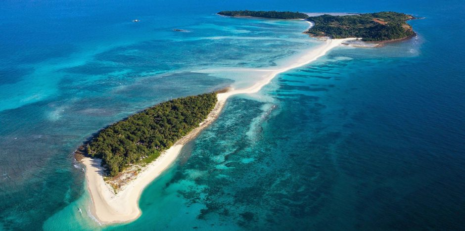 ¿Quién no querría relajarse en esta playa?