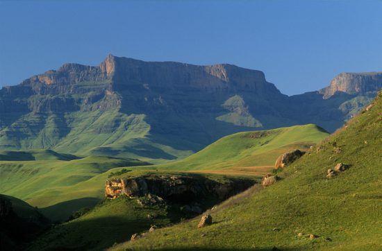 Giants Castle in KZN, South Africa