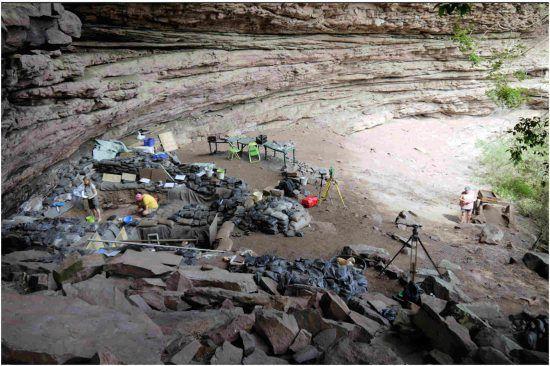 The archaeological site of Sibudu, KwaZulu-Natal, South Africa