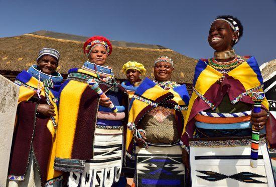 Ndebele women of Zimbabwe