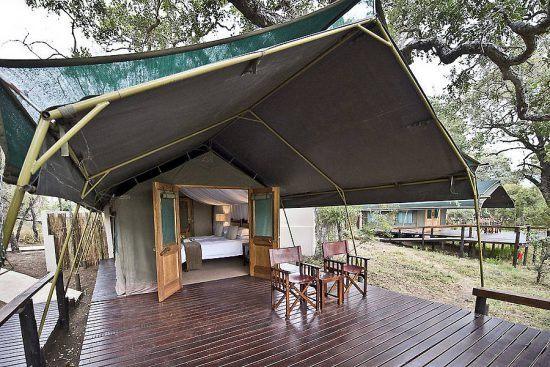 tent simbavati river lodge